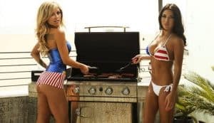 Chase Strippers - Strippers Cooking BBQ